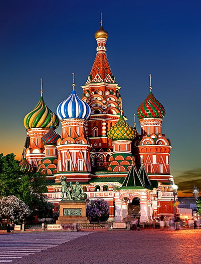 Russia-Saint Basils Cathedral