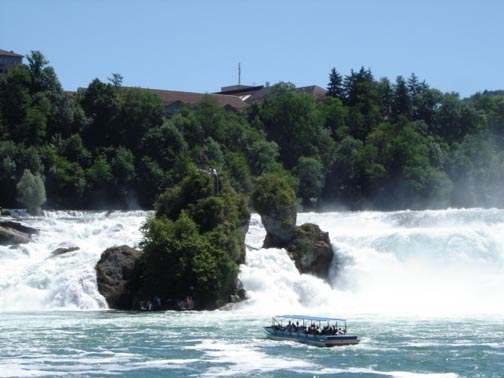 Rhine Falls with Cruise