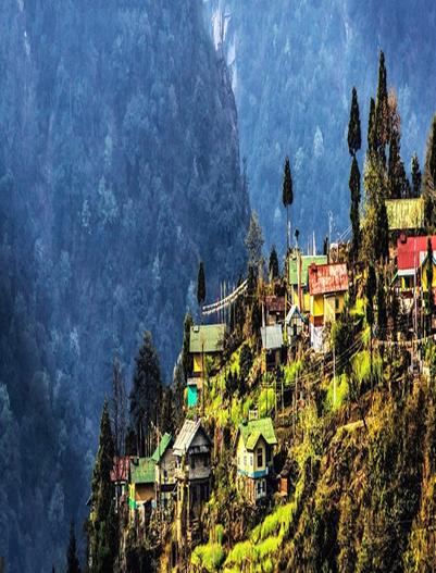 Pelling-Pelling Village