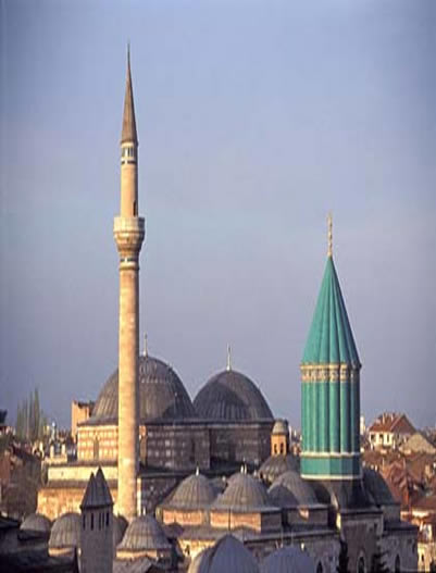 Shrine of Jalaluddin Rumi,Konya