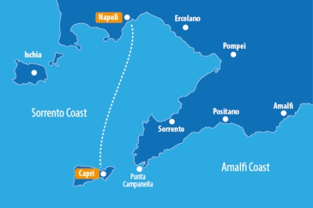 Naples to Capri