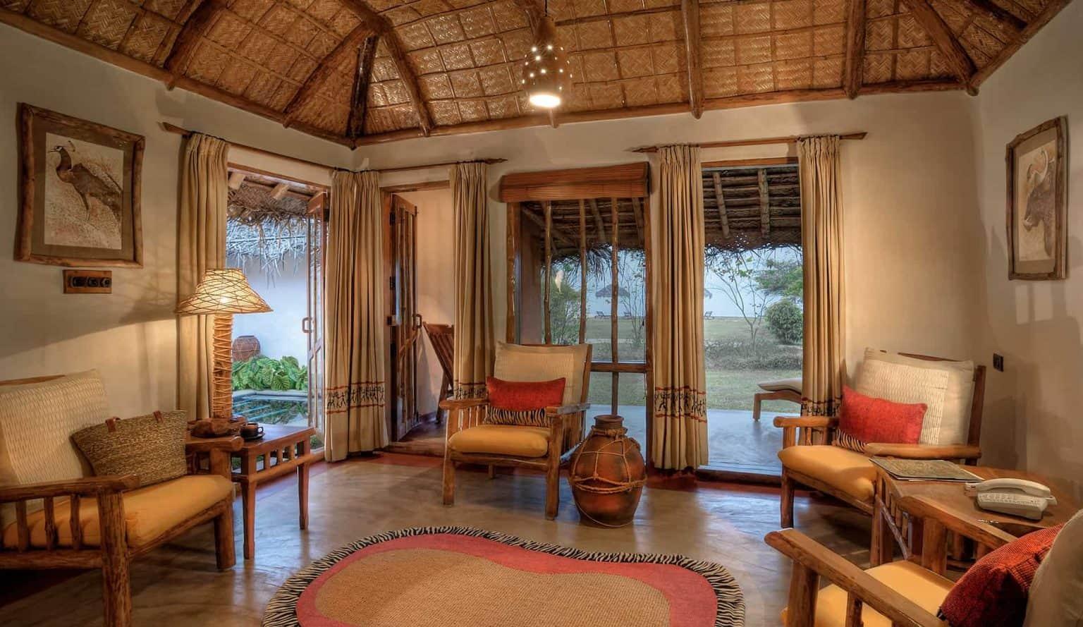Kabini Hotel Living Room